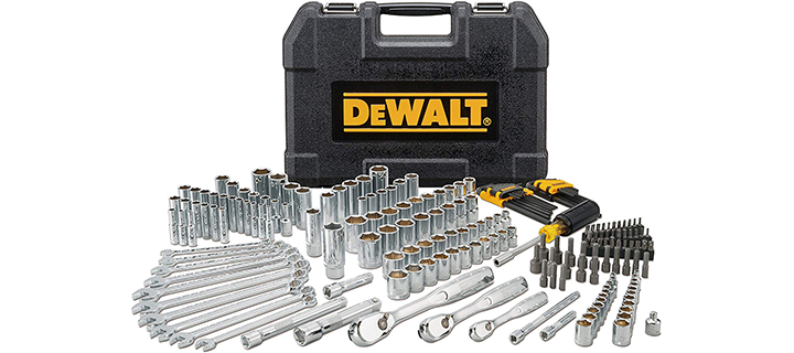 DeWalt Mechanics Tool Set 205 Piece