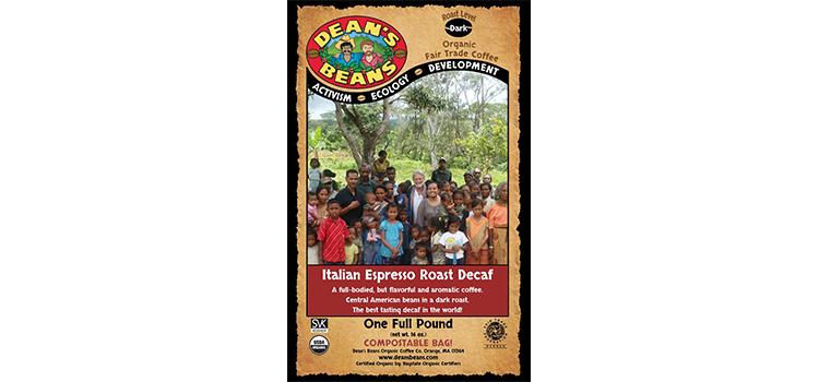 Dean's Bean's Organic Coffee Company Italian Espresso