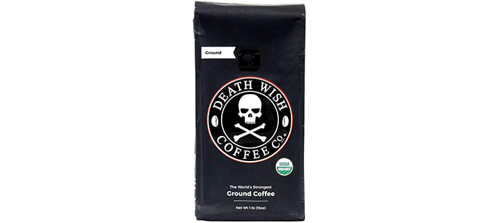 Death Wish Coffee Co Ground Coffee