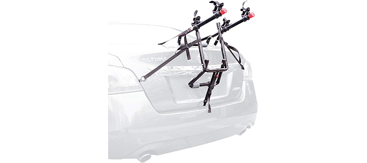 Deluxe Trunk Mounted Bike Rack