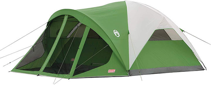 Dome Tent Coleman with Screen Room