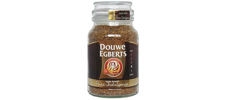 Douwe Egberts Pure Indulgence Instant Coffee in a Jar