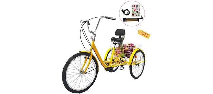 EOSAGA 7 Speed Adult Tricycle