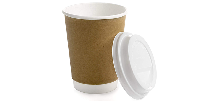 Earth's Natural Alternative Kraft Paper Coffee Cup