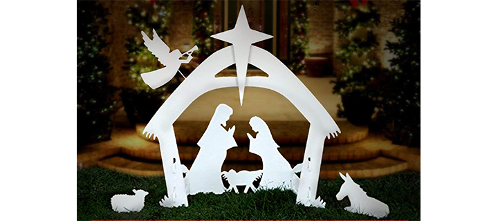 EasyGoProducts EGP-NAT-001 Set for Outdoor Christmas Decoration