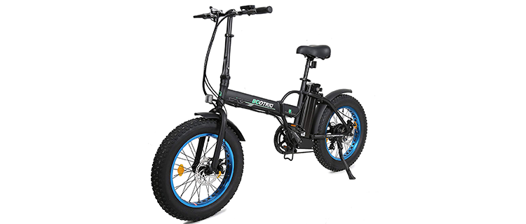 Ecotric 20-Inch Folding Electric Bike