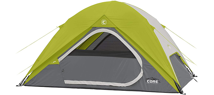 Equipment Core 4 People Instant Dome Tent