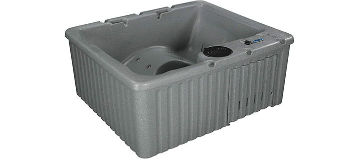 Essential Hot Tubs Newport Lounger 14-Jet Molded Hot Tub