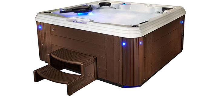 Essential Hot Tubs Syracuse 67-Jet Molded Hot Tub