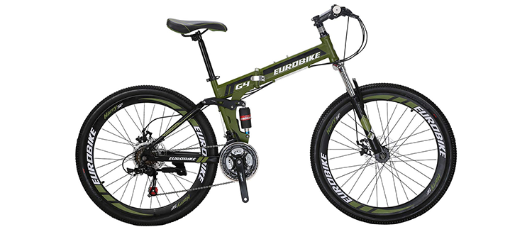 "EuroBike 26"" Folding Mountain Bike"