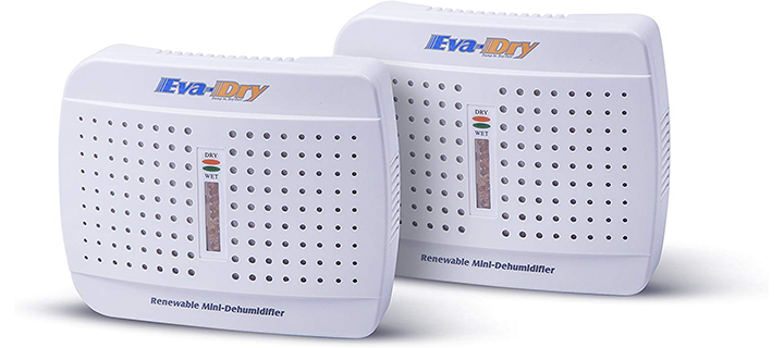 Eva-Dry E-333 Mini-Dehumidifier (2-pack)