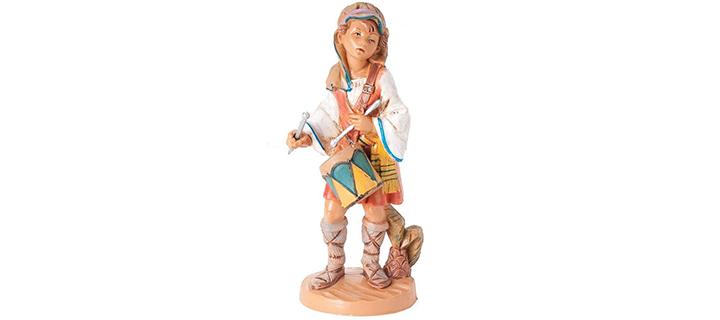 Fontanini Jareth the Drummer Boy Italian Nativity Village Figurine