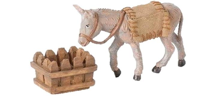 Fontanini Mary's Donkey Animal Italian Nativity Village Figurine