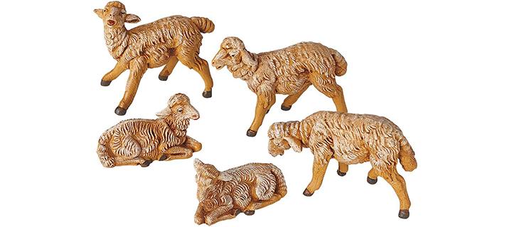 Fontanini by Roman Sheep Nativity Figurine