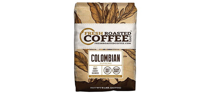 Fresh Roasted Coffee LLC, Colombian Coffee