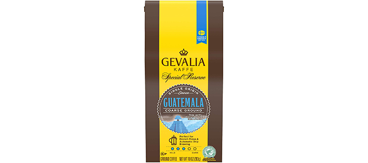 Gevalia Guatemala Medium Roast Coarse Ground Coffee