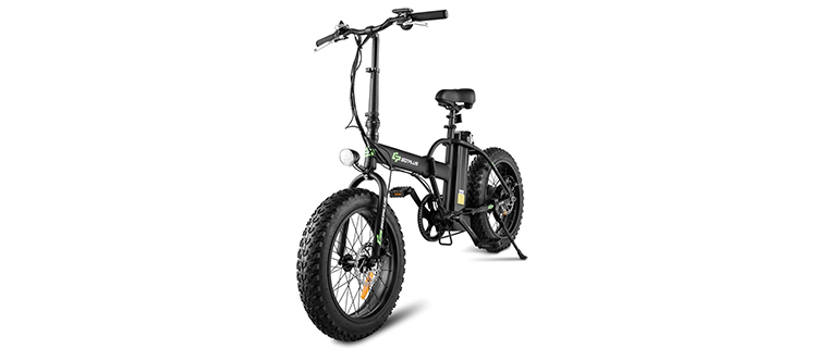 Goplus 20-Inch Folding Electric Bicycle