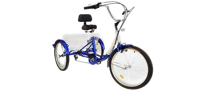 Happybuy 24 Inch Adult Tricycle