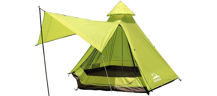 Hasika 4-Season Teepee Family Tent