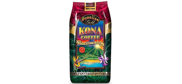 Hawaiian Gold Kona Blend Coffee