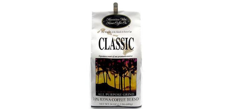 Hawaiian Isles Kona Coffee Co. Kona Classic
