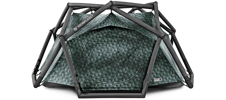 Heimplanet Inflatable the Cave Geodesic Tent