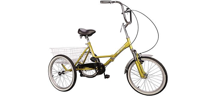 Hiram Adult Three-Wheeled Tricycle