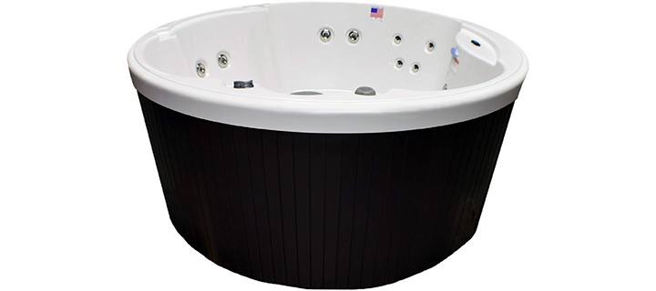 Home and Garden 4 Person 14 Jet Plug and Play Spa