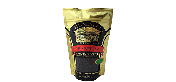 Hualalai Estate PEABERRY- 100% PREMIUM Kona Coffee