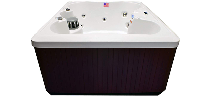 Hudson Bay 4 Person 14 Jet Spa with Stainless Jets