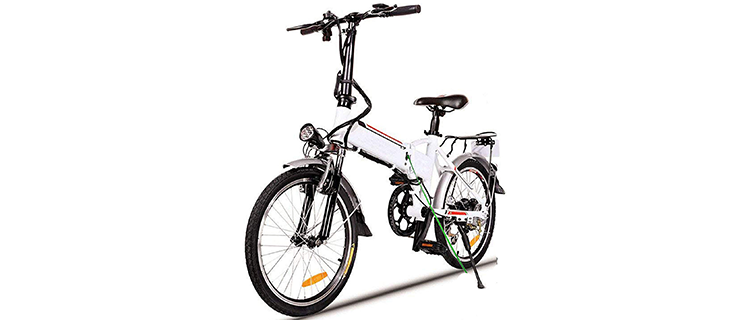 Hurbo 250W Folding Electric Bike