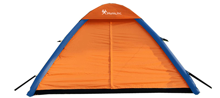 IHUNIU INC 4 Person Inflatable Air Pop Up Tent