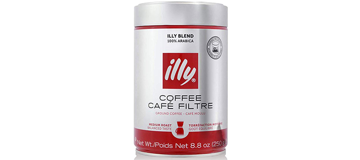 Illy Ground Drip Coffee Medium Roast