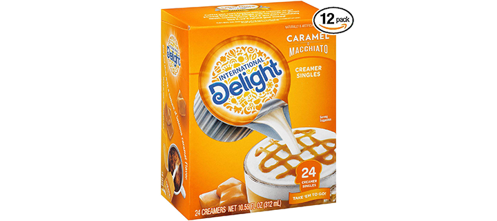 International Delight Caramel Macchiato Single-Serve Coffee Creamer
