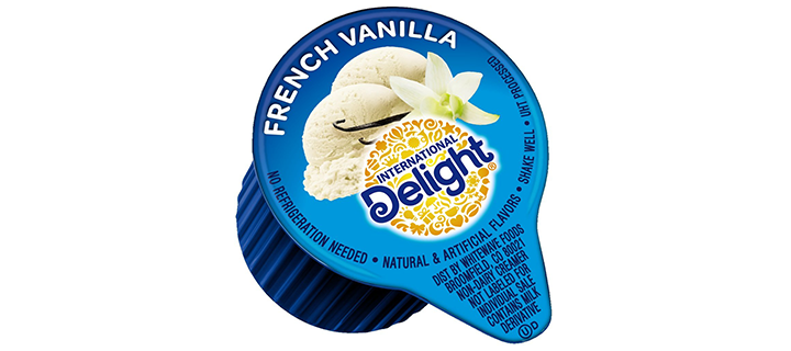 International Delight, French Vanilla, Single-Serve Coffee Creamer