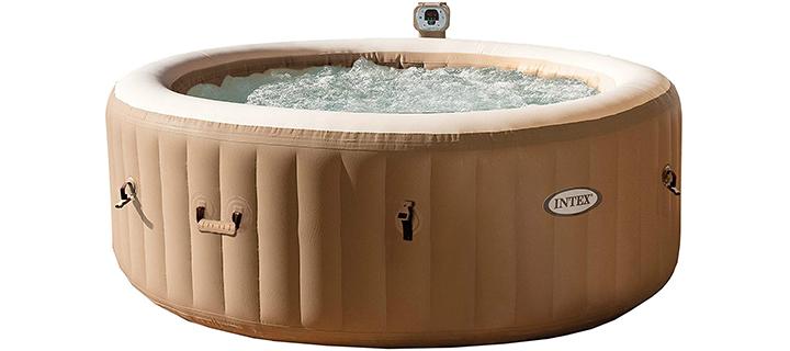 Intex 77in PureSpa Portable Bubble Massage Spa Set+