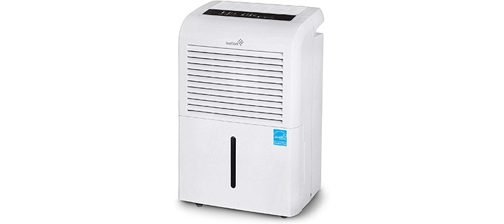 Ivation 70-Pint Dehumidifier with Pump
