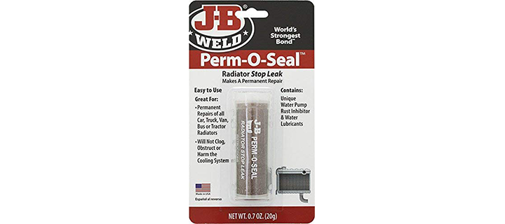 J-B Weld Perm-O-Seal Radiator Stop Leak