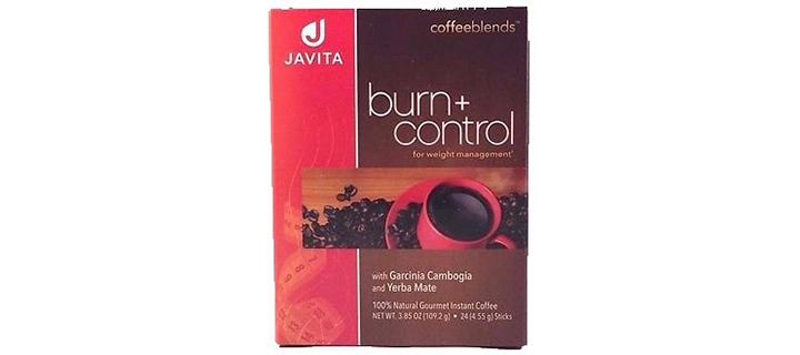 Javita Burn + Control Weightloss Gourmet Instant Coffee