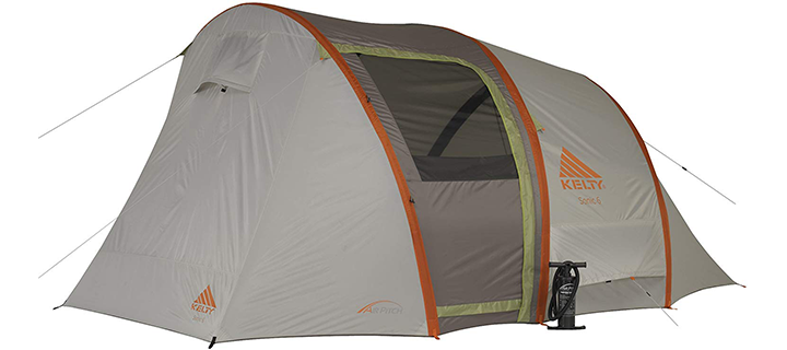 Kelty Sonic Air-pitch 6 Person Inflatable Tent