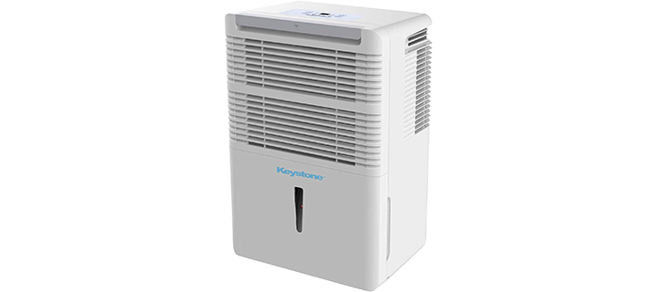 Keystone High-Efficiency 50-Pint Dehumidifier