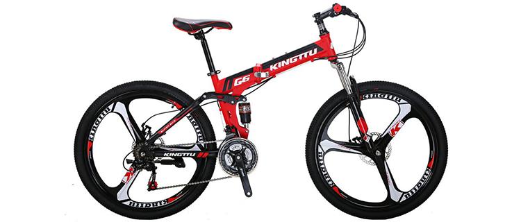 Kingttu Foldable Mountain Bike