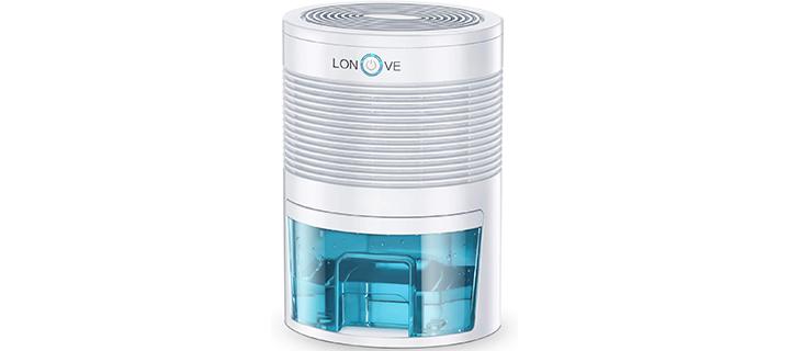 LONOLOVE 800ml Portable Dehumidifier