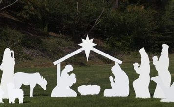 Large Outdoor Nativity Sets