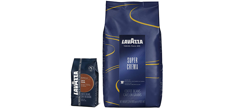 Lavazza 22 Pound Super Crema Espresso Whole Bean