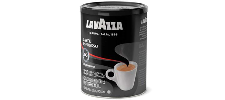 Lavazza Caffe Espresso Ground Coffee Blend