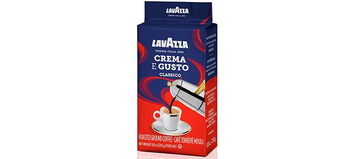 Lavazza Crema e Gusto Ground Coffee Blend