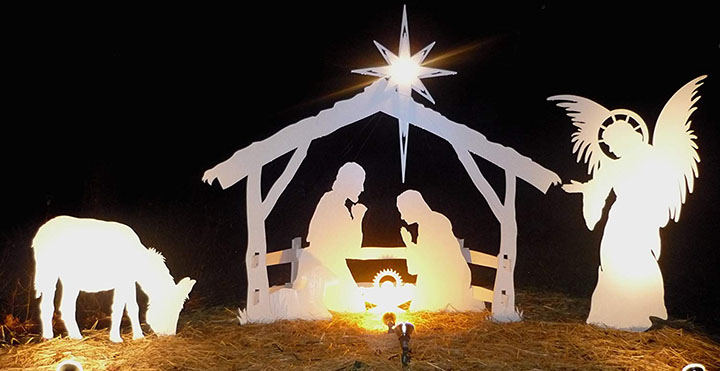 Life-Size Outdoor Christmas Nativity Set
