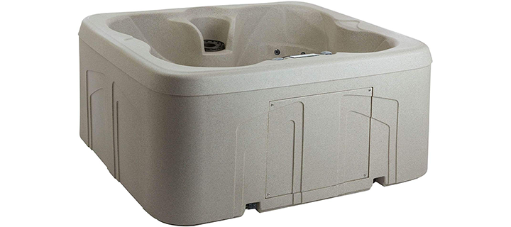Lifesmart Rock Solid Simplicity 4 Person Hot Tub