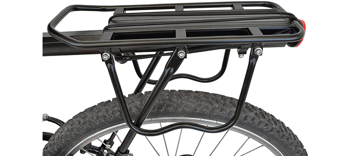 Lumintrail Bicycle Commuter Carrier Rear Mounted Bike Cargo Rack